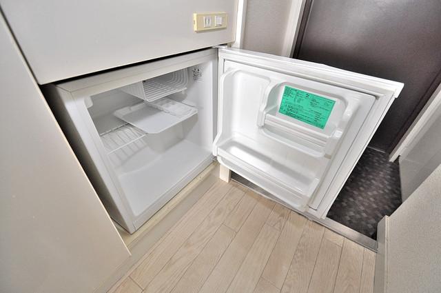 エクセルシオール長田 嬉しいミニ冷蔵庫付きです。家電代1つ分浮きましたね。