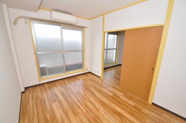 メダリアン巽 窓があるので風通しが良く、快適な睡眠がとれそうですね。