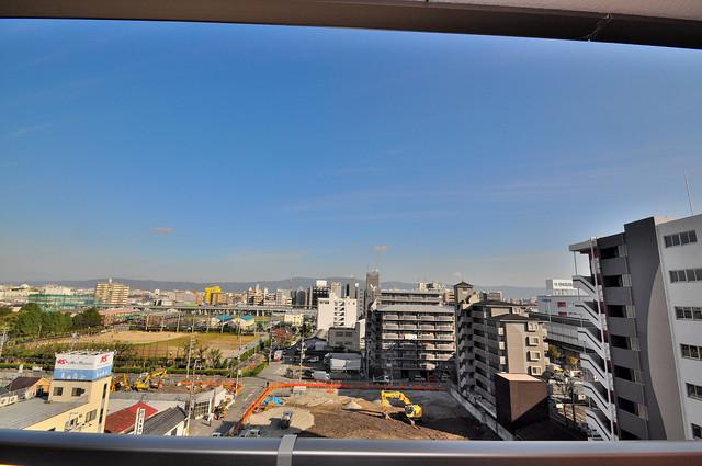 M'プラザ高井田 バルコニーは眺めが良く、風通しも良い。癒される空間ですね。