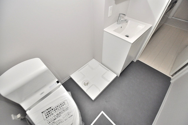 Purosupere弥栄 洗濯機置場が室内にあると本当に助かりますよね。
