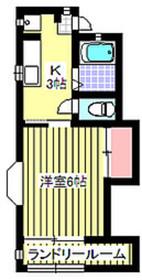 エクセル501階Fの間取り画像