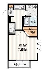 エタニティーMJ1階Fの間取り画像