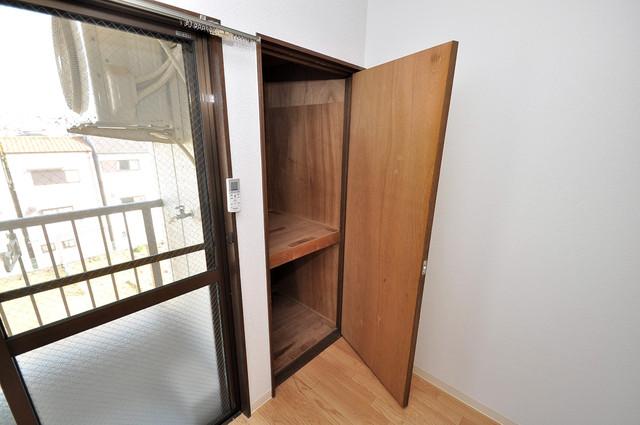 シャルマン89 もちろん収納スペースも確保。お部屋がスッキリ片付きますね。