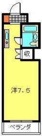 ベルビュー日吉1階Fの間取り画像