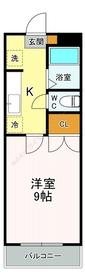 セレーノ国見1階Fの間取り画像