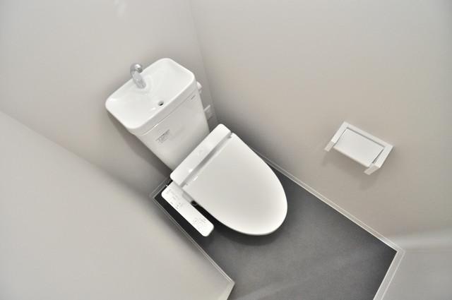Lumo布施(ルーモフセ) 清潔感のある爽やかなトイレ。誰もがリラックスできる空間です。