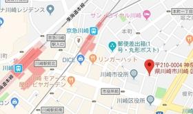 ZOOM川崎案内図