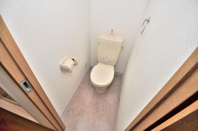 プリムヴェール 清潔感たっぷりのトイレです。入るとホッとする、そんな空間。