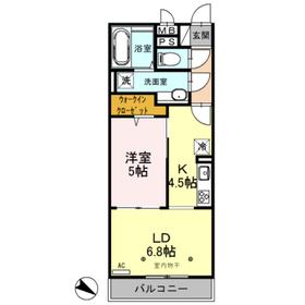 Reiwa(レイワ)3階Fの間取り画像
