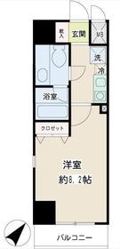 コニファー新子安4階Fの間取り画像
