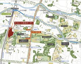 ラ・トゥール新宿ガーデン案内図