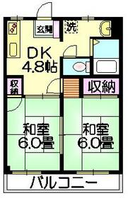 マイハイツピュア3階Fの間取り画像