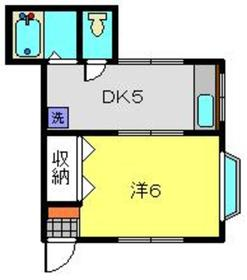 ヒルサイド松葉台1階Fの間取り画像