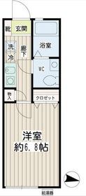 元町・中華街駅 徒歩21分1階Fの間取り画像