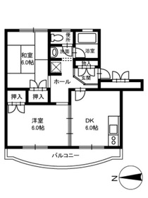 北久里浜駅 徒歩3分3階Fの間取り画像