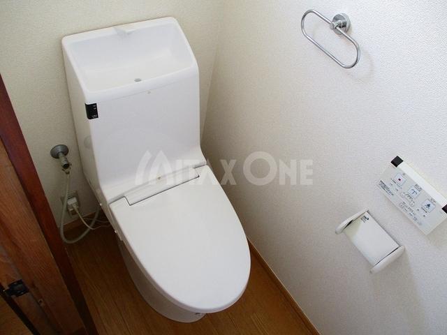 芦川貸家トイレ
