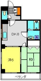 コート・ヴィラ3階Fの間取り画像