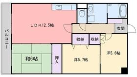 堀第2ビル2階Fの間取り画像
