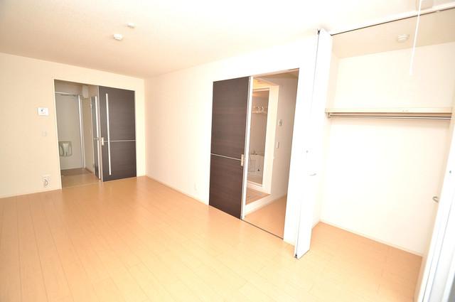 エクレール上小阪 シンプルな単身さん向きのマンションです。
