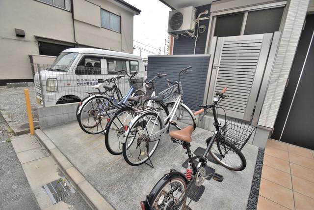 デネブ あなたの大事な自転車も安心してとめることができますね。