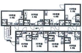 西新宿駅 徒歩18分1階Fの間取り画像