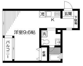 ガーデンコートi2階Fの間取り画像