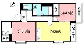 幡ヶ谷駅 徒歩16分2階Fの間取り画像