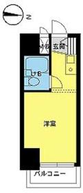 スカイコート下高井戸9階Fの間取り画像