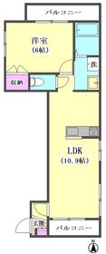 ヘーベルメゾンシュクレ ドゥー 201号室
