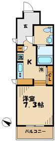 リココリーナ3階Fの間取り画像