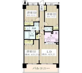 ジーオー桜庵3階Fの間取り画像