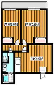 FIGARO下赤塚2階Fの間取り画像