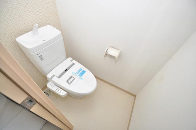 グランスイート キレイに清掃されたトイレは清潔感があり気分もよくなります。