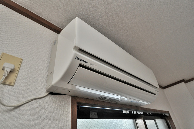 コーポフェルメール うれしいエアコン標準装備。快適な生活が送れそうです。