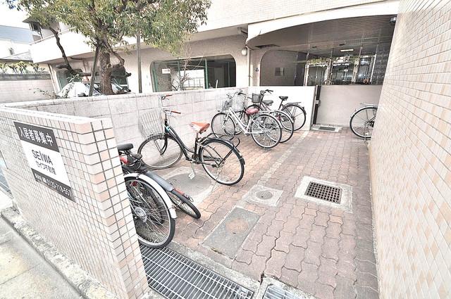 オルゴグラート長田 広い駐輪スペースは、置き場を探すこともなくなりますね。