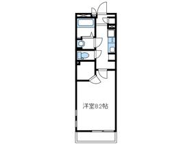 クレイノビッグアロー3階Fの間取り画像