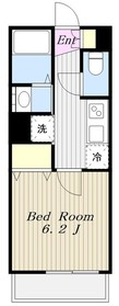 町田駅 徒歩10分3階Fの間取り画像