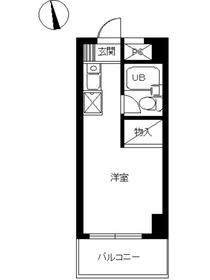 スカイコート町田3階Fの間取り画像