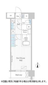 UPPER FIELD WOOD5階Fの間取り画像