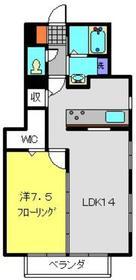武蔵小杉駅 バス15分「能満寺」徒歩1分1階Fの間取り画像