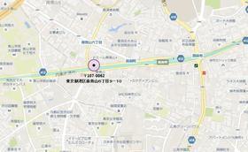 外苑前駅 徒歩18分案内図