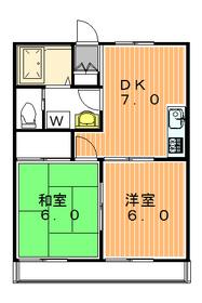 メイプル太子堂1階Fの間取り画像