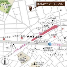 徳川山パーク・マンション案内図