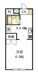 メゾンマツダ2階Fの間取り画像