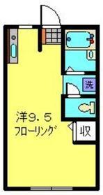 日吉ムーンライトガーデン2階Fの間取り画像