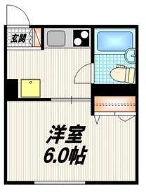 ミライⅡ1階Fの間取り画像