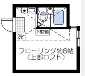 矢向駅 徒歩4分1階Fの間取り画像