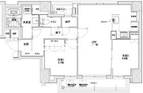 ADONIS6階Fの間取り画像