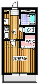 デルニエワコー21階Fの間取り画像