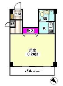 パレドール石川台 504号室
